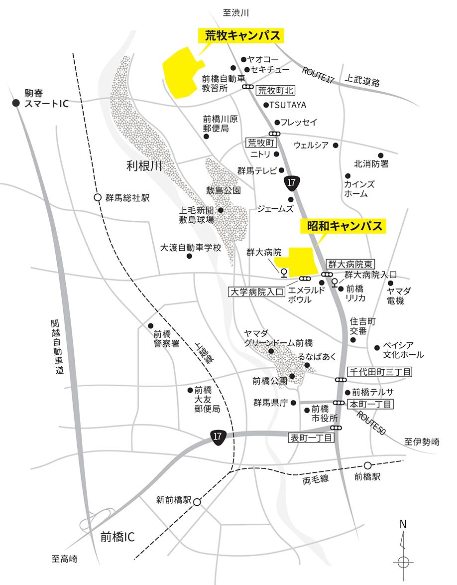 周辺環境マップ